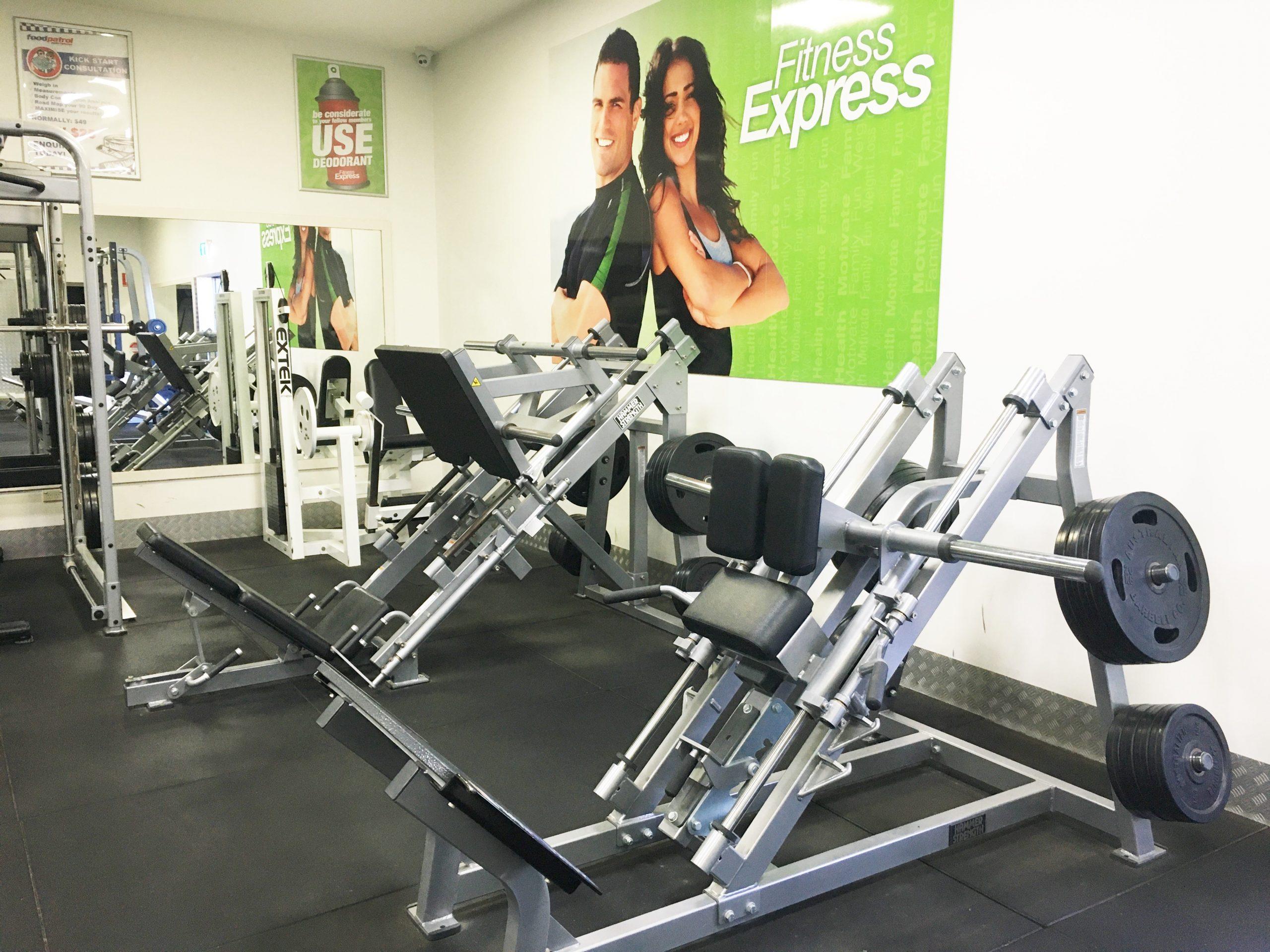 fitness express legs equipment