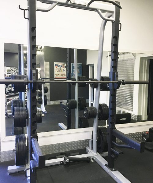 gym weights with bar