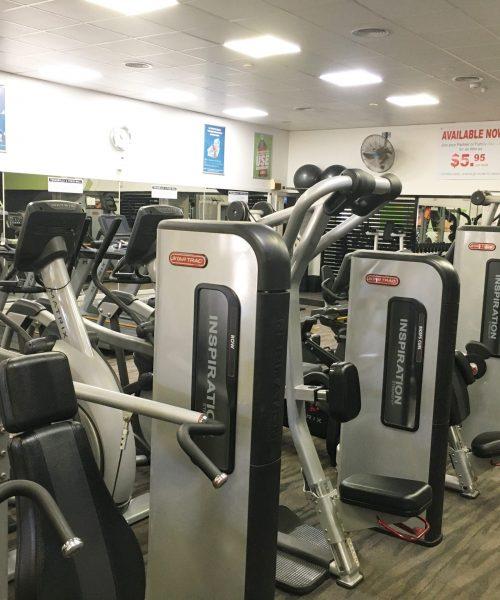 cardio gym equipment
