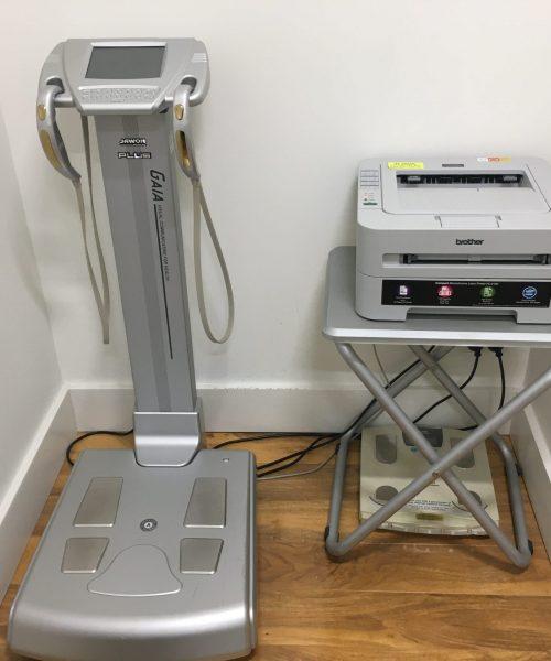 fitness data machines